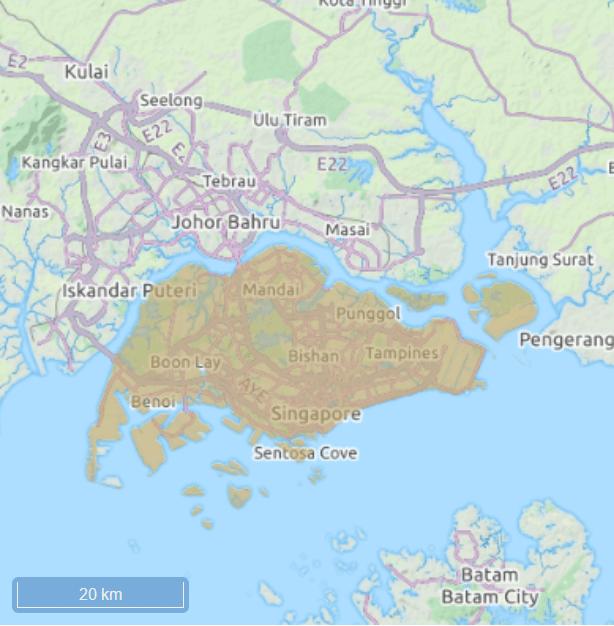 Singapur Stopover Vergleich Berlin zu Singapur