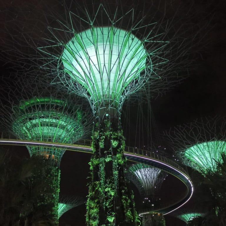 Stopover Singapur Gardens by the sea