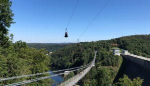 Megazipline Harz Flug Blick von oben