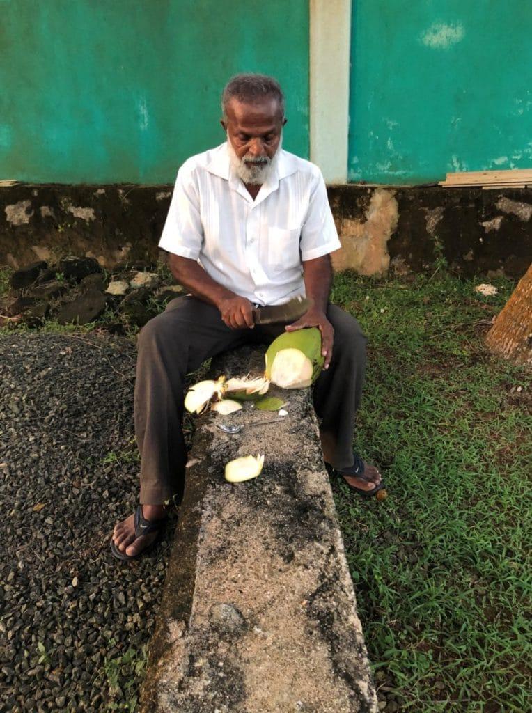Sri Lanka Kosten für Essen - Kokosnuss