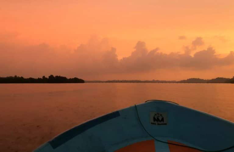 Sri Lanka Reisetipps Bootstour Sonnenuntergang