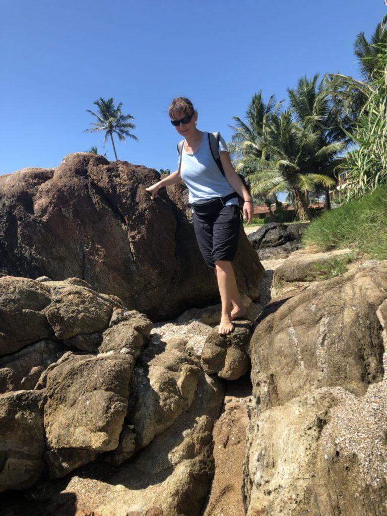 Sri Lanka Reisetipps Sicherheit Strandwanderung