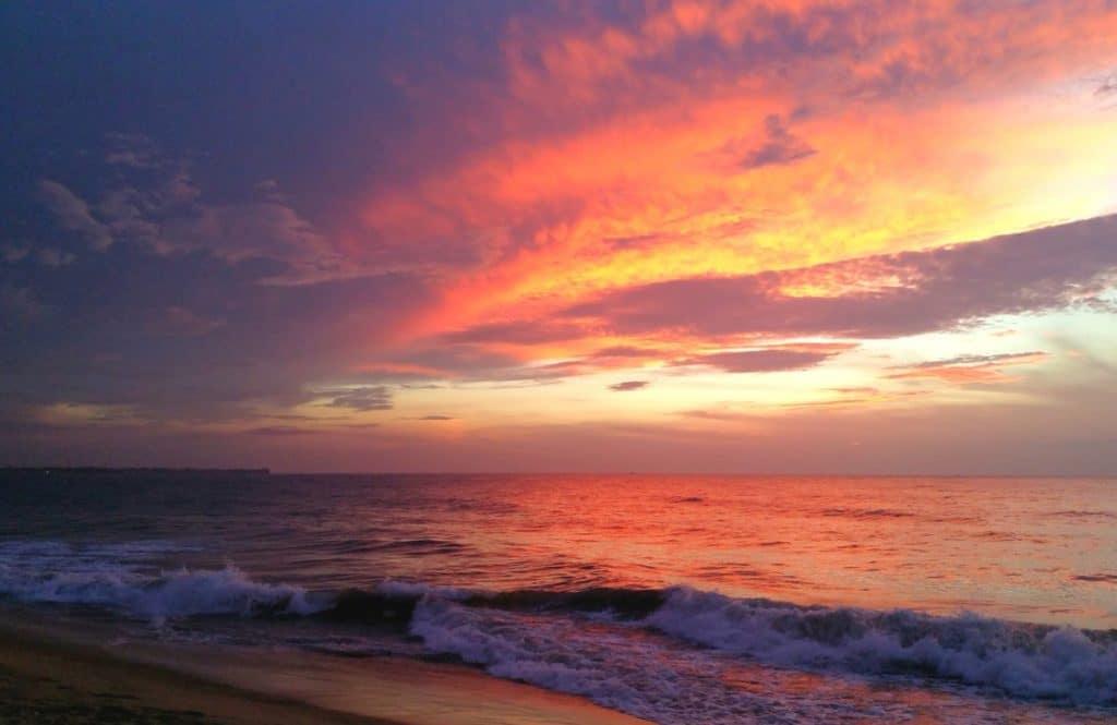 Sri Lanka Tipps Reise Sonnenuntergang
