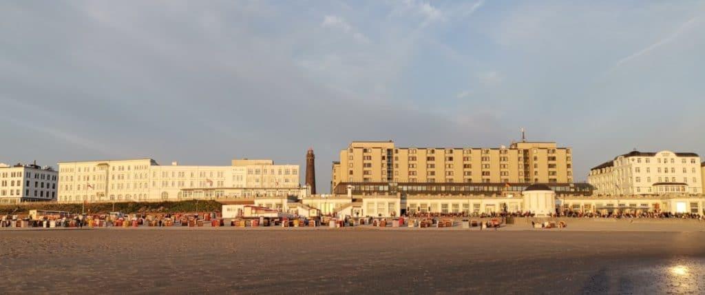 Insel Borkum Strandpromenade