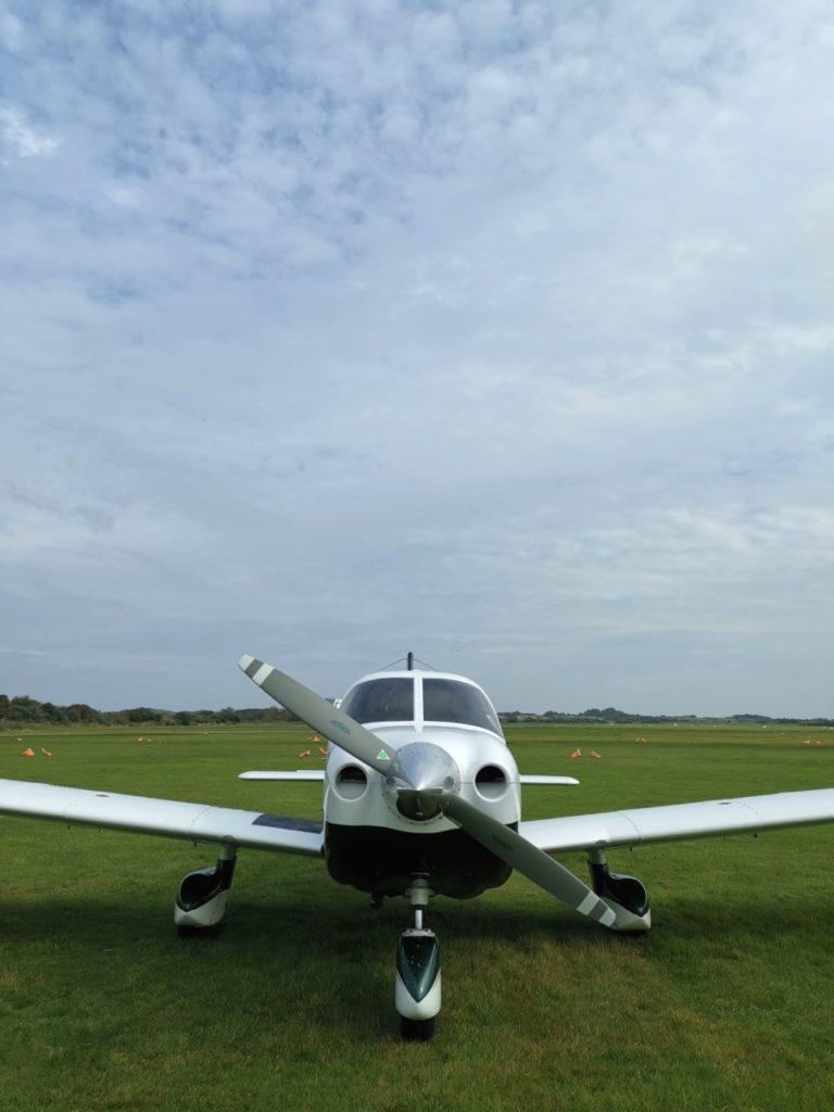 Insel Borkum erleben Leichtflugzeug