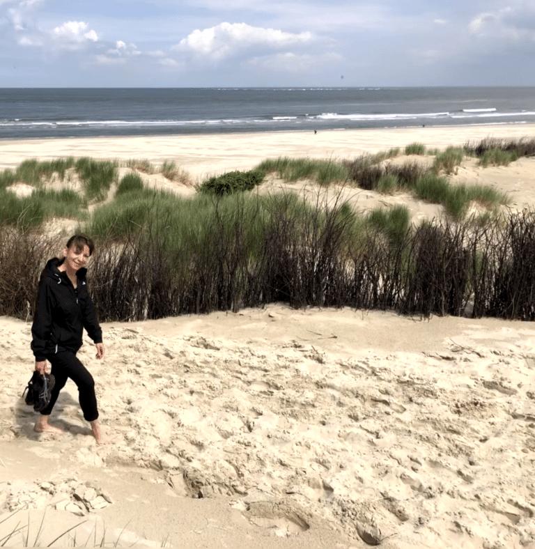 Insel Borkum erleben Strandwanderung