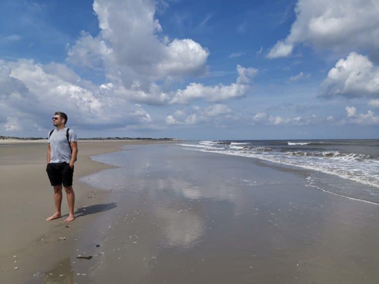 Insel Borkum erleben Traumstrand