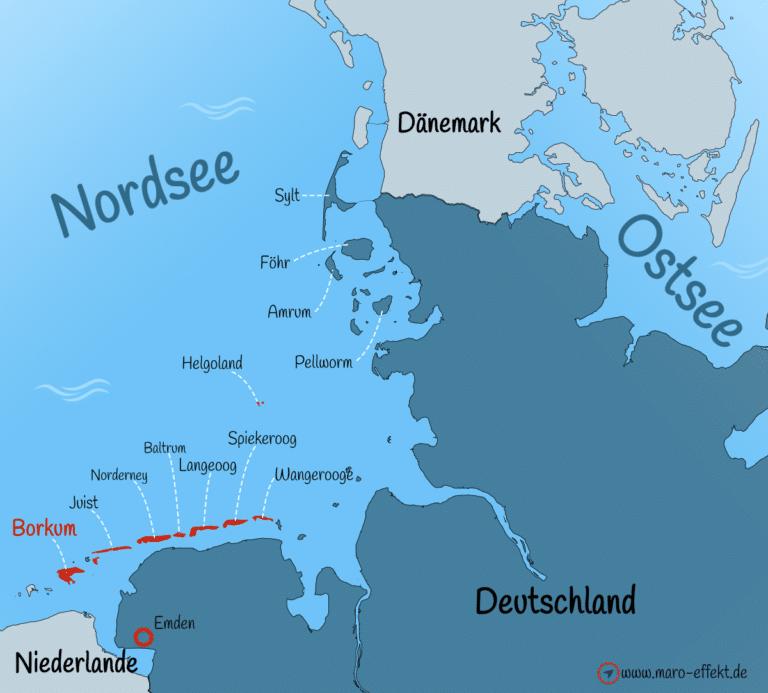 Ostfriesische Inseln Borkum