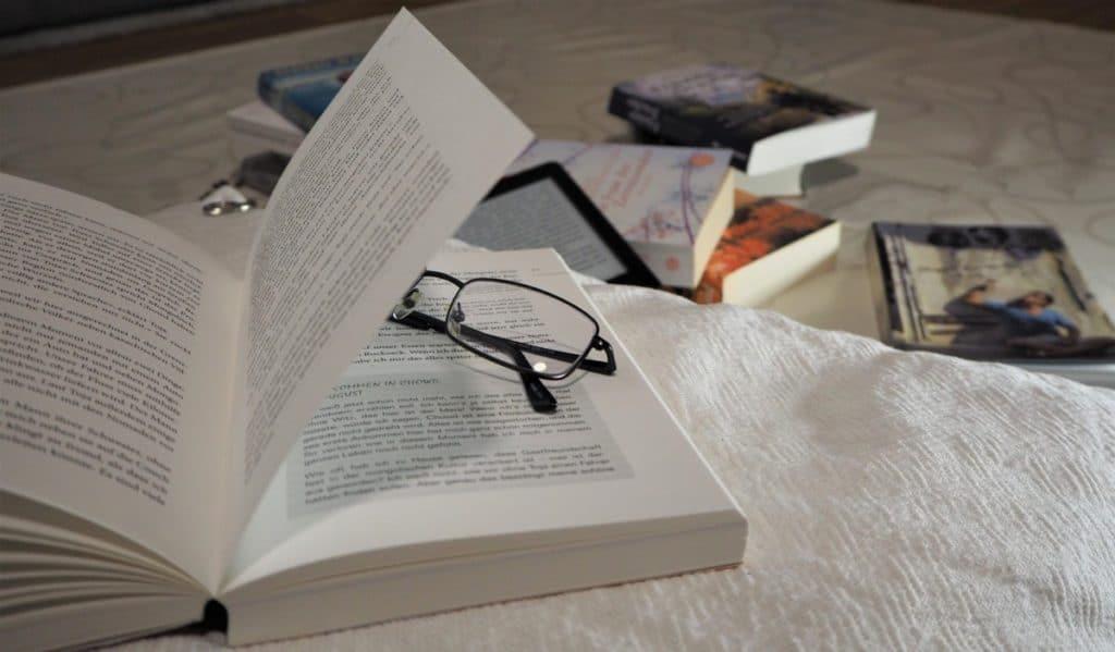 beste Reisebücher lesen Brille
