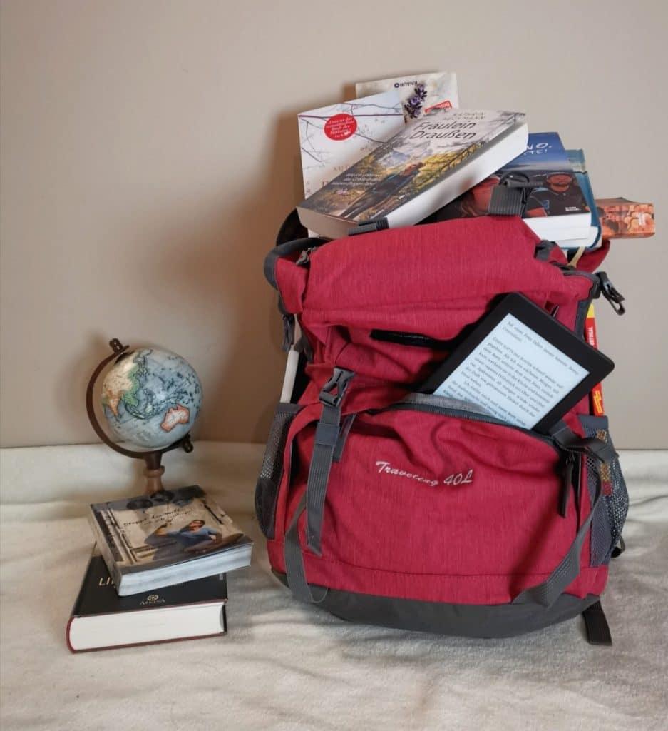 beste Reisebücher Rucksack Globus